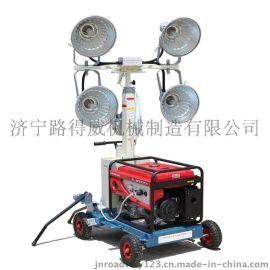 移动照明灯塔手推式照明车路得威RWZM21