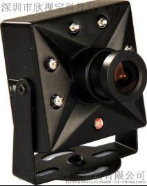 车载监控摄像头广角镜头 红外夜视650线 方块车载摄像头 的士专用摄像机 微型车载摄像机
