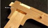 戶外攜帶型EDC測量工具純黃銅遊標卡尺