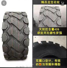 青岛铲车轮胎批发16/90-16铲车轮胎钢圈铲车轮胎价格
