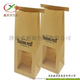 供应环保开窗爆米花纸袋 食品纸袋厂家