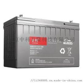 山特电池 C12-65AH 铅酸蓄电池