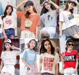 便宜女裝T恤韓版大版短袖女裝上衣寬鬆T恤清