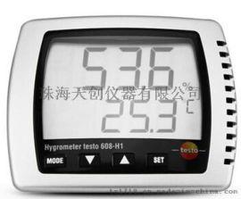 经济型台式温湿度计 testo 608-H1
