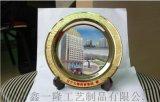 商务高档礼品金盘定制8寸银盘纹路轮廓制作纪念盘工厂