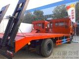 金華市挖機平板運輸車東風解放12噸15噸15噸裝載拉挖機