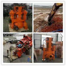 景德镇大型船用液压绞吸潜污泵 沟渠专用淘沙泵 液压耐磨砂浆泵