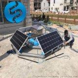 太陽能曝氣機工作原理