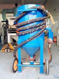 加压移动喷砂机 石材雕刻户外喷砂机
