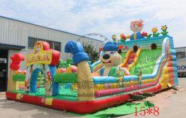 小孩充气蹦蹦床 河南充气城堡厂家 低价优质充气玩具