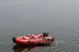 水上游艺设施 观光用 手划船 充气橡皮艇 可挂挂桨机