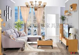 东莞鑫誉我居我潮北欧风格-小户型  多功能隐形床-茶几-客厅家具