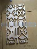 方管烧焊铝窗花-金属型材铝花格-四方管外墙装饰