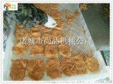 米堡肉饼上浆裹粉油炸成套设备 米堡肉饼生产线