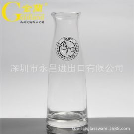 出口品质大容量玻璃冷水壶圆口方口家用玻璃水壶
