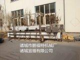 山东宜福猪皮电加热油水混合油炸生产线