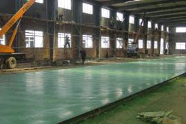 潍坊实力公司周边承包做金刚砂耐磨地面