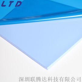 厂家供应高导热硅胶片 间隙填充导热绝缘硅胶片散热粘性效果好