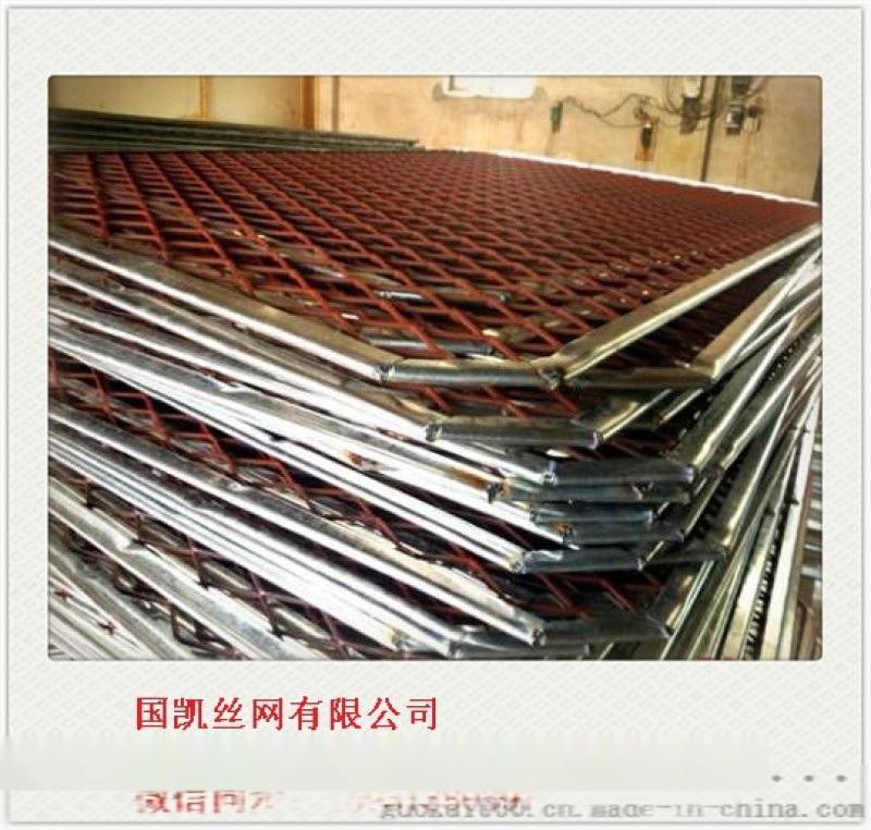 请重型钢板网  热镀锌钢板网