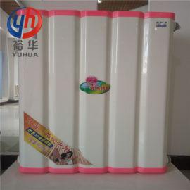 暖气换热器_箱体铜管即热式600-5柱大容量换热器