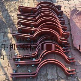 D1D2型三孔管夹 D6管夹横担 滑动型管托厂家