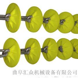 组合倾斜管链加料机直销 粉体料管链机