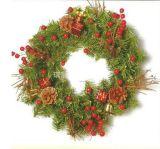 大型聖誕樹花環
