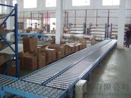 无动力滚筒输送机碳钢喷塑 纸箱动力辊筒输送机广东