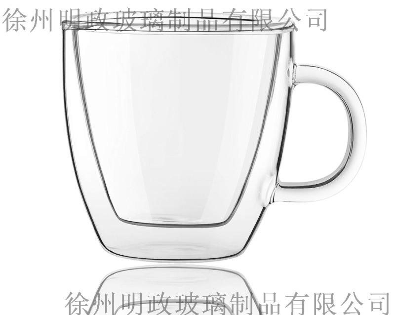 透明高硼矽簡約女玻璃杯創意辦公室咖啡水杯茶杯