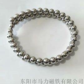 釹鐵硼強磁鐵 8mm磁力珠 磁球 磁性項鏈