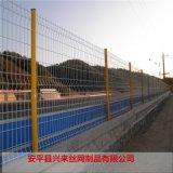 浸塑护栏网 养鸡用铁丝网 pvc护栏网厂家