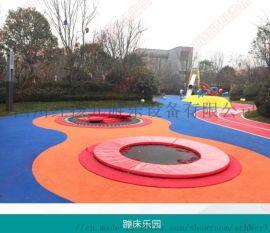 定制户外景区游乐园蹦床无动力设备 儿童蹦床设施