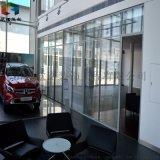 滁州玻璃隔斷辦公室磨砂百葉簾隔斷牆