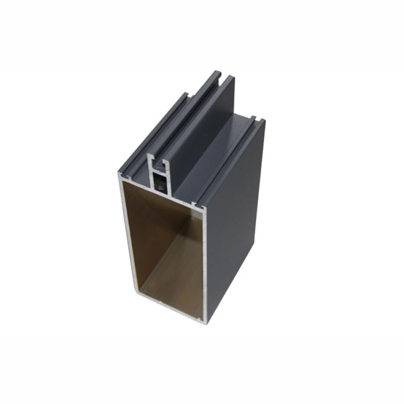 廣東興發鋁業幕牆鋁方管|龍骨方通