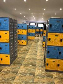热 学生寄存柜  存包柜塑料储物柜-ABS 衣柜