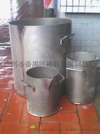 广州钛金桶提金专用TA2钛煲厂家报价