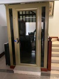 复式楼二层三层家用别墅电梯观光电梯厂家山东欣达电梯