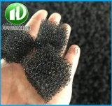 Φ100球型黑色海綿聚氨酯填料 除氨氮球型填料