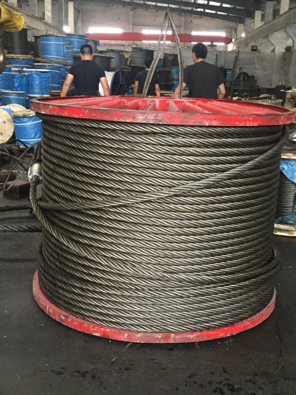 6k*31WS+IWR打桩机扁丝钢芯钢丝绳 规格全