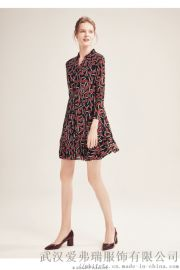 【代销】服装店如何拿货便宜季候风清新V领公主裙