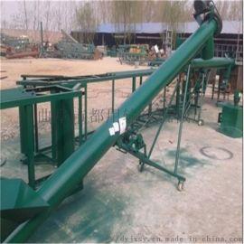 面粉螺旋输送机安装 柴油机带螺旋上料机qc