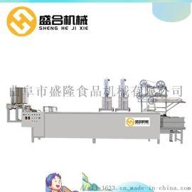 山东滨州自动豆腐皮机报价 盛合  仿手工豆腐皮机