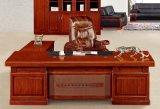 2437款2.2米油漆辦公桌 胡桃木皮綠色環保傢俱