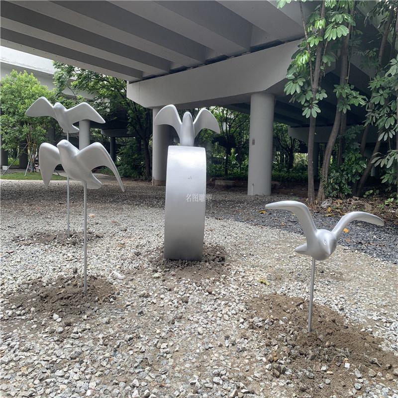 玻璃钢景观小品雕塑 南沙公园景观小品雕塑装饰造型