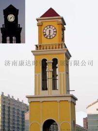 广西建筑塔钟供应康巴丝KTS-15精美电子建筑塔钟出口建筑钟表国内**品牌