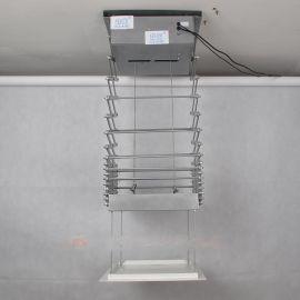 晶固绞剪式行程2米投影机天花电动吊架/投影仪器吸顶绞剪式升降器支架