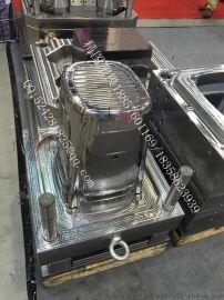 乐扣保鲜盒模具塑料大型垃圾桶模具 整理箱模具