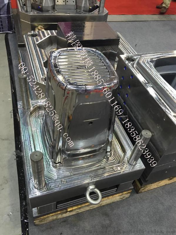 樂扣保鮮盒模具塑料大型垃圾桶模具 整理箱模具