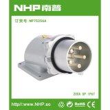 NHP南普 200A五芯码头明装电源插頭 防水明装插頭