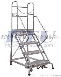 ETU易梯优,304不锈钢登高梯 防腐防锈 食品及医药行业适用